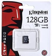 256GB microSDHC Kingston Canvas Select 80R CL10 UHS-I Card w/o adapter