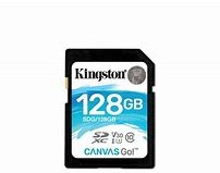 128GB SDXC Kingston Canvas Go 90R/45W CL10 U3 V30