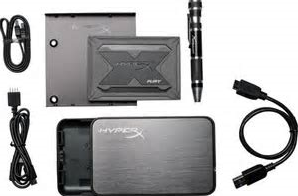 960GB Kingston HyperX Fury SHFR SATA III 2.5 RGB BUNDLE-2