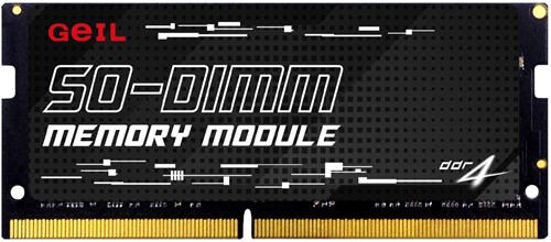 16GB GEIL SO-DIMM DDR4 PC4-21330 2666MHz, CL19 1.2V, Single Channel