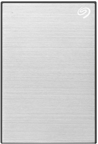 Seagate One Touch 5TB External Hard Disk Drive - Silver