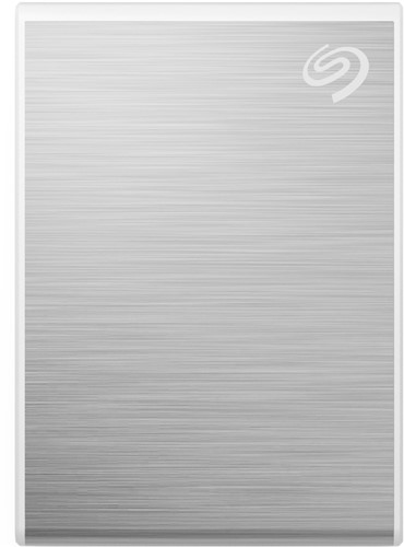 Seagate One Touch STKG500401 500 GB Silver external SSD