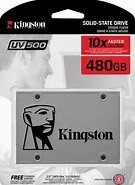 480GB Kingston SSDNOW UV500 SATA 3, 2.5""