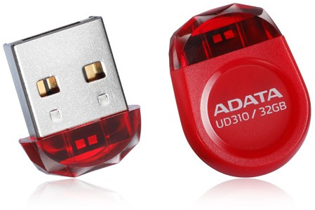 32GB USB Flash disk, ADATA UD310, USB 2.0, RED