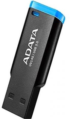 32GB USB 3.0 Flash Disk Drive, ADATA UV140, BLACK/BLUE