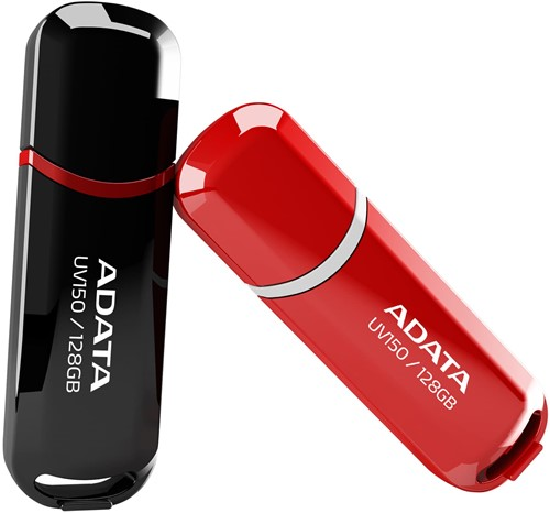 64GB USB 3.0 Flash Disk Drive, ADATA UV150, RED-2