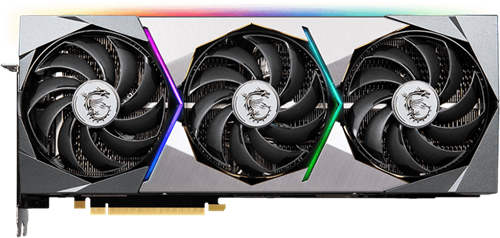 MSI GeForce RTX™ 3080 SUPRIM X 10G Video Card