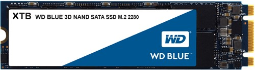 Western Digital Blue SSD 2TB M.2 2280 SATA III 6GB/s 3D Nand Flash