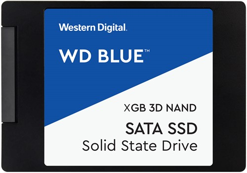"Western Digital Blue SSD 4TB 2.5"" 7mm SATA III 6GB/s 3D Nand Flash"