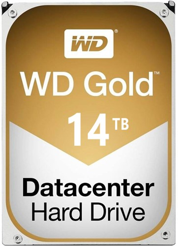 "Western Digital Gold, 3.5"", 14 TB, 7200 RPM"