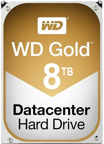 "Western Digital Gold, 3.5"", 8 TB, 7200 RPM"