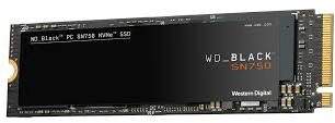 Western Digital 500GB WD BLACK SN750 NVMe SSD