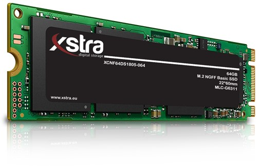 Xstra 64GB M.2 NGFF Basic SSD, 22*60mm, MLC-G6311
