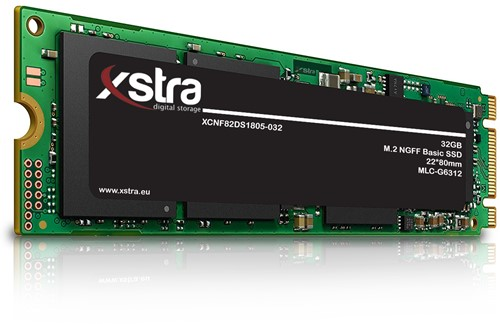 Xstra 32GB M.2 NGFF Basic SSD, 22*80mm, MLC-G6312
