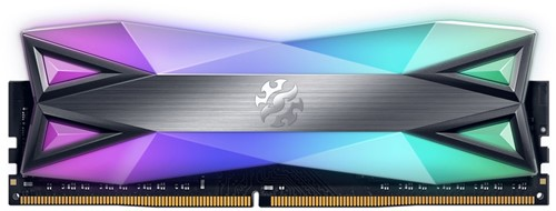 16GB Memory Upgrade, XPG Spectrix D60G, SINGLE CHANNEL DDR4 3600Mhz, CL18,