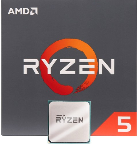 AMD Ryzen 5 2600X 3.6GHz Processor with Wraith Stealth Cooler